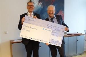 Die Bayerische spendet 5.000 Euro an die Hans-Rosenthal-Stiftung